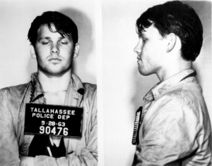 Jim Morrison mug shot from FSU