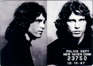 Jim Morrison arrested in New Haven